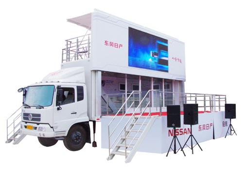 中型舞台展示车